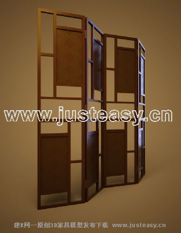 Decorative screens, Chinese screens, retro wall, wooden furn