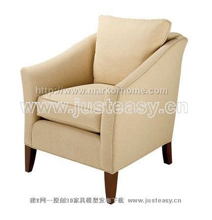 Single person sofa, cloth art sofa, soft sofa, contemporary