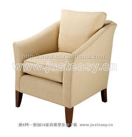 Link toSingle person sofa, cloth art sofa, soft sofa, contemporary