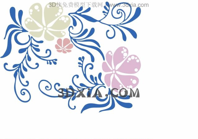 Link toThe flowers ornament, flowers, wallpaper, wallpaper, wall st