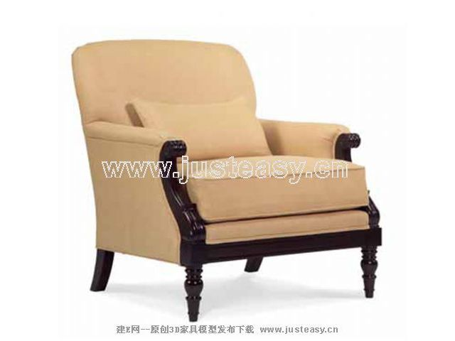 New sofa classical, sofa, single person sofa, soft sofa, ou