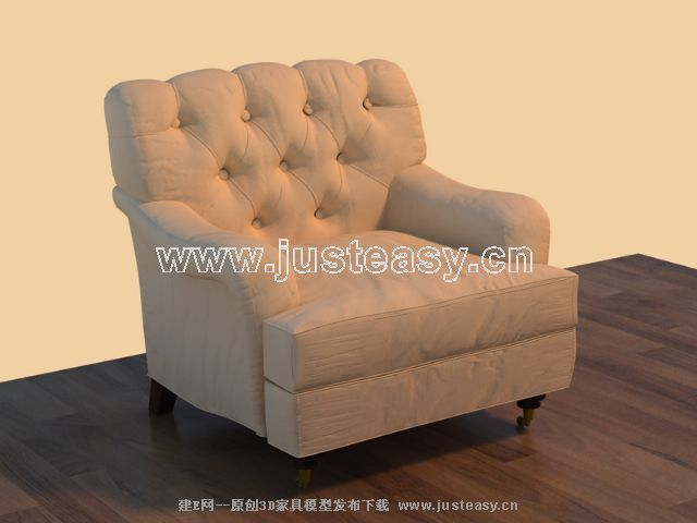 Cloth art sofa, soft sofa, European big sofa, single person