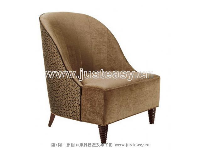 Single person sofa, cloth art sofa, soft sofa, European furn