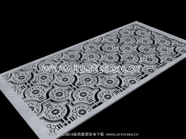 Chinese style carve screen, screen, Chinese style furniture,