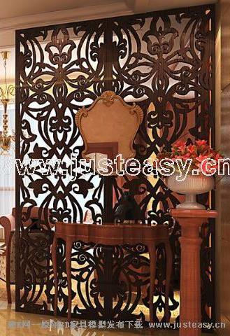 Chinese style setting wall, setting wall, Chinese style furn