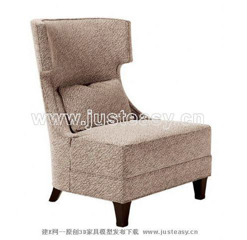 Simple and practical high back sofa, single sofa, sofa, fabr