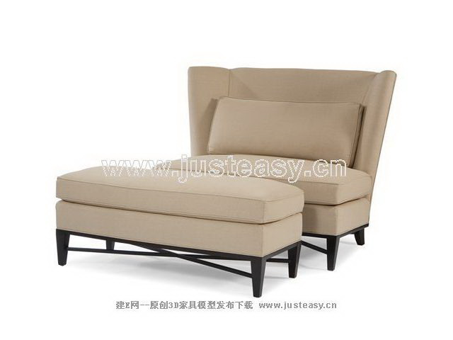 Sofa chair, sofa chair, single sofa, sofa, Continental sofa,