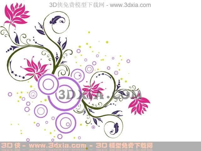 Abstract red flower wallpaper wallpaper wall stickers dec