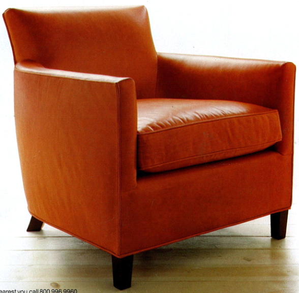 Ou shi metres red single person sofa chair, single chair, so