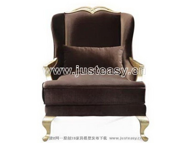 European single chair, European furniture, Europe type sofa