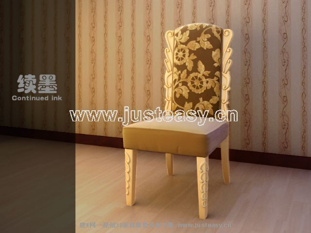 European carving HuaMuYi odd chair, luxury single chair, cha