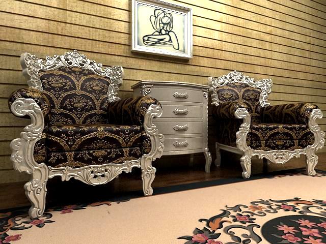 European luxury single person sofa chair, Nordic sofa, carve