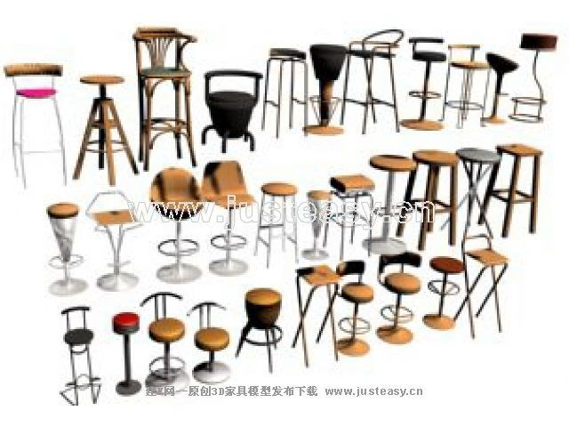 Several kinds of chair, chair, sofa, bar bar chair, tall foo