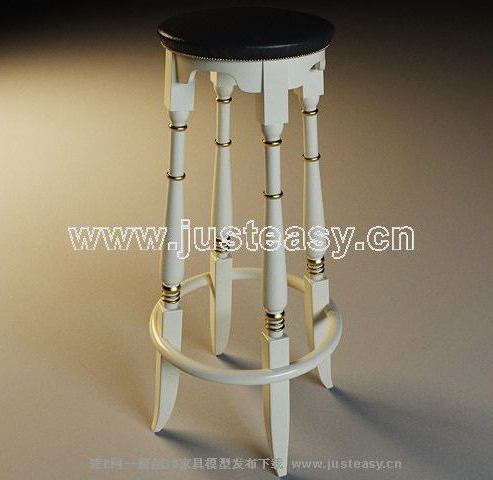 European GaoJiaoDeng, stools, European wood chair, woodiness