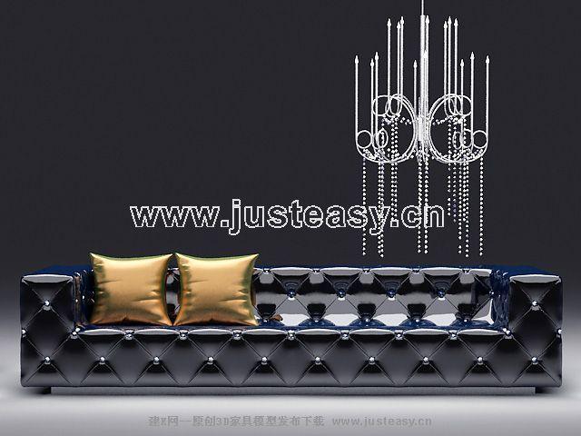 Postmodern ablaze people sofa, many people sofa, KTV sofa, f