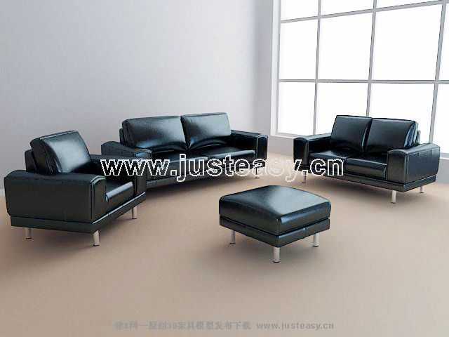 Office sofa combination, assorted sofa, coriaceous sofa, off