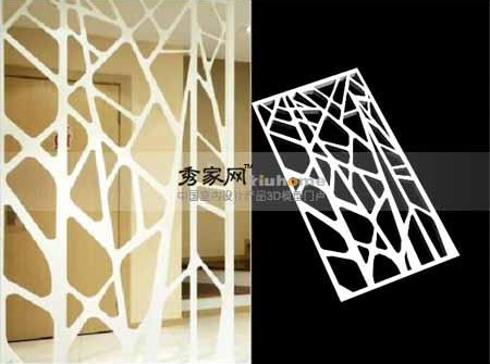 Show home fashion screen decoration, setting wall, screen, w