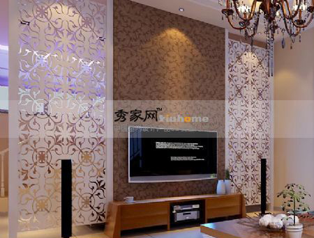 Sitting room TV setting wall screen, setting wall, screen, w