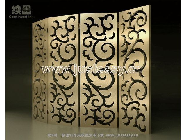 Chinese abstract woodcarving screen, fashionable screen, con