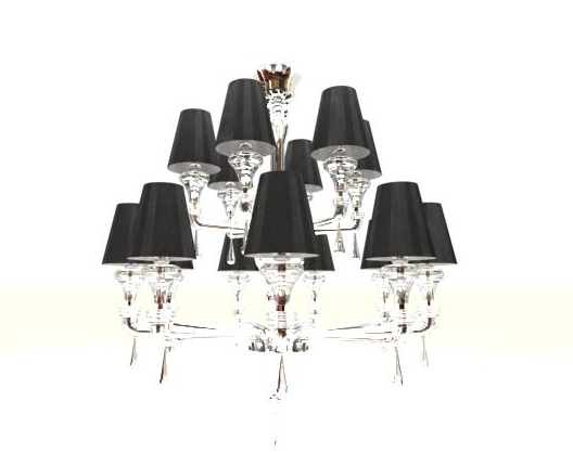 Glass crystal droplight, droplight, lamps and lanterns, pers