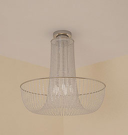Glass dome light, transparent crystal lamps and lanterns, cr