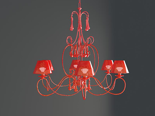 Red SPAR agate droplight, lamps and lanterns, lighting, hous