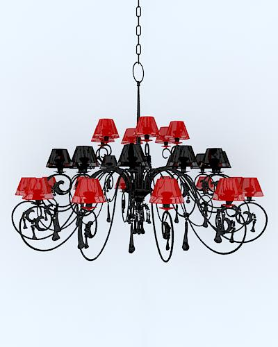 Hei gong dichromatic SPAR droplight, lamps and lanterns, lig