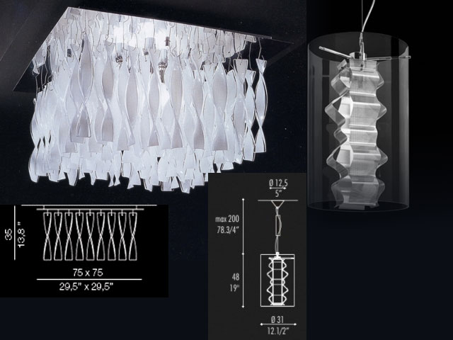 Fashion glass droplight, droplight, glass lamp act the role