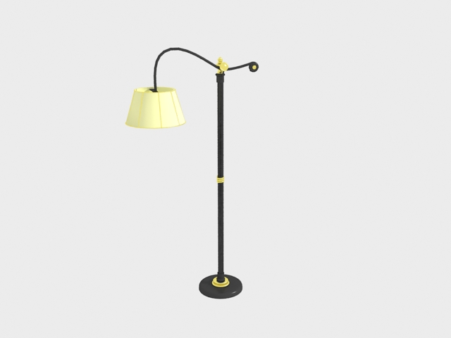 Yellow household vogue ground lamp, table lamp lamp act the