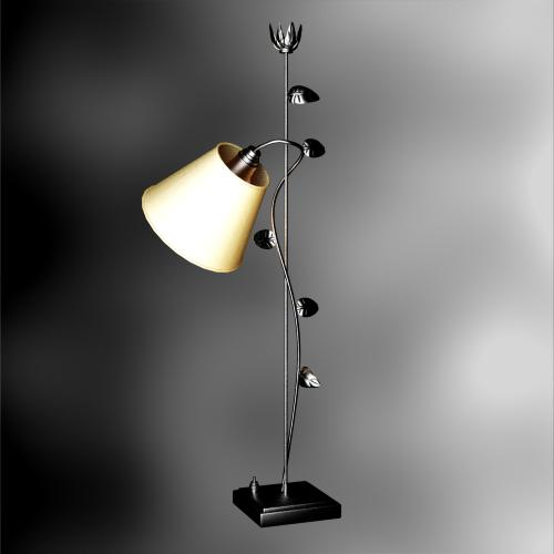 Desk lamp, table lamp, wrought iron vines lamps and lanterns