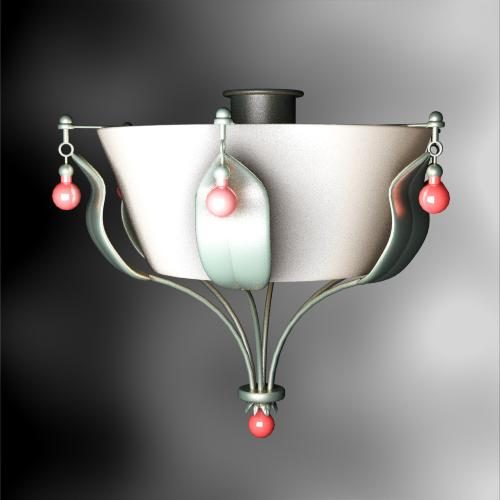 European porcelain household droplight, droplight, lamps and