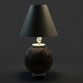 Modern black elegant desk lamp, lamps and lanterns, desk lam