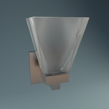 Trapezoidal body wall lamp, lamps and lanterns, wall lamp, h