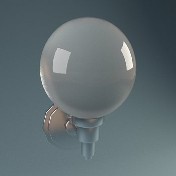Sphere metal wall lamp, lamps and lanterns, wall lamp, home