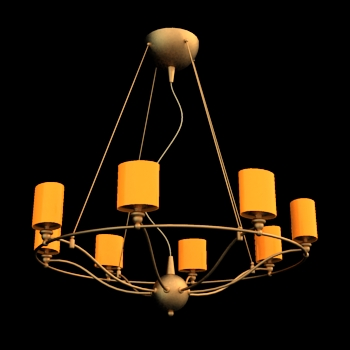 Circular droplight, lamps and lanterns, droplight, lighting,