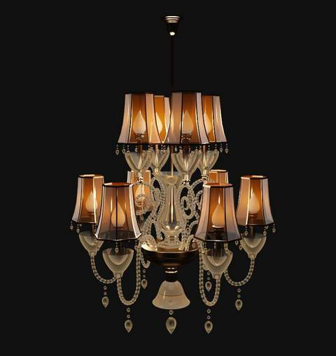 Europe type glass is hanged adorn droplight, lamps and lante
