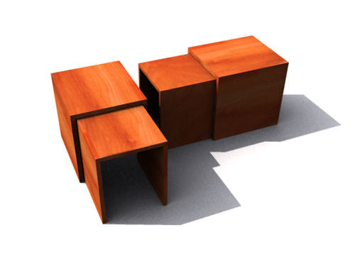 Personality woodiness furniture, furniture, multi-function f