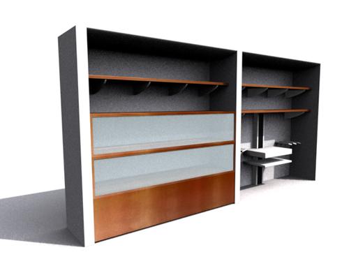 Link toHousehold bedroom cabinet, cabinet, wood, multi-function ark