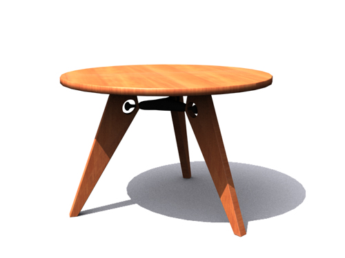 Solid wood table, the table, the real wood furniture, contra