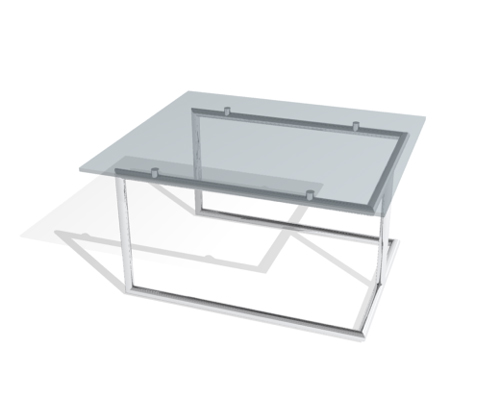 Glass is transparent tea table, fashionable tea table, conte