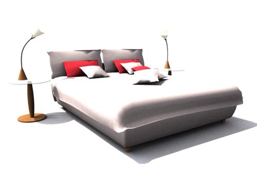 Link toContracted sponge double hammock, double bed, bed, furniture