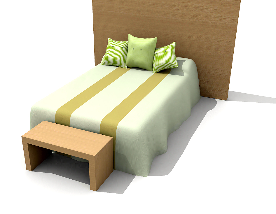 Green warm bed, bed, bed, individual furniture vogue furnitu