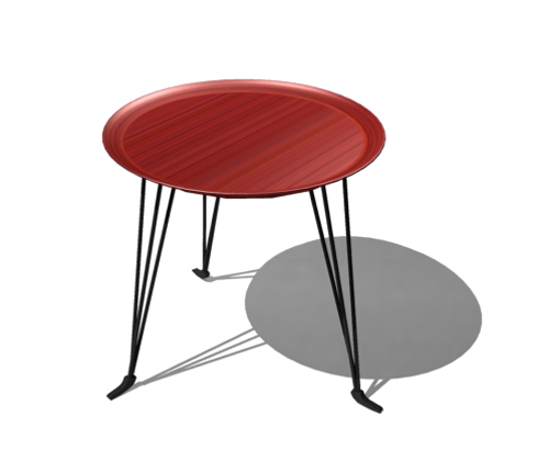 Low stool form tea table, tea table, disk tea table, furnitu