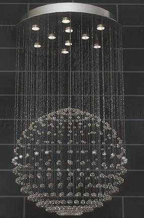 Link toSpherical bead curtain pendant lamp
