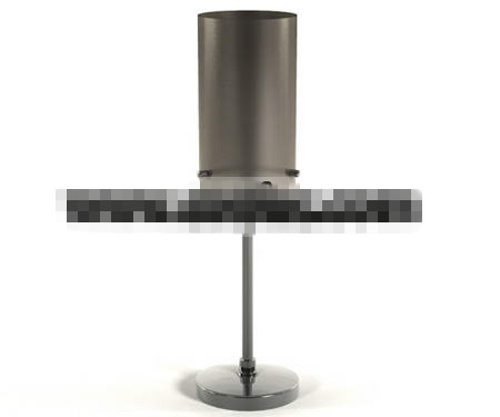 Gray mature Household table lamp