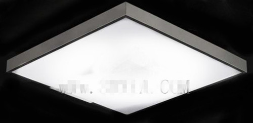 Square Crystal Ceiling Lamp