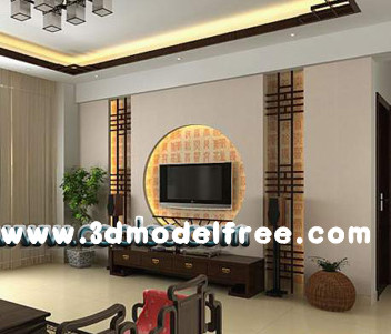 Link toChinese simple style living room