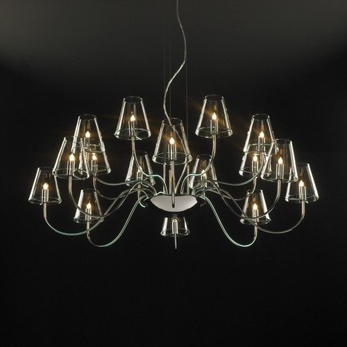European classic large crystal chandelier