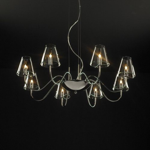 Simple and classic crystal chandelier