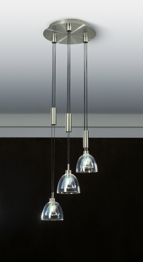 Link toCombination of simple clear crystal chandelier